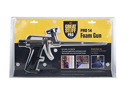 Great Stuff 99046685 Stuff Pro 14 Dispensing Foam Gun, Silver (Great Stuff Pro 14 Foam Dispensing Gun)