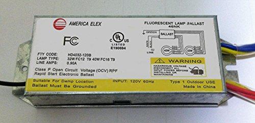 72 Watt Circline Ballast - HD4032-12B