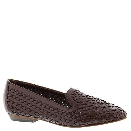 Sesto Meucci Womens Nefen Slip-on Loafer Dark Tan