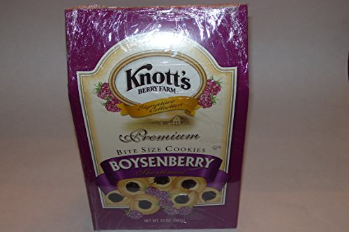 knotts Berry Farm - Premium Boysenberry Shortberry Cookies - 20oz (567g)