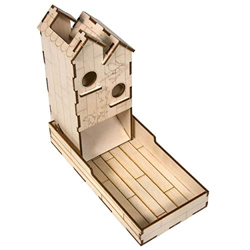 The Broken Token Mini Dice Tower Kit - Birdhouse