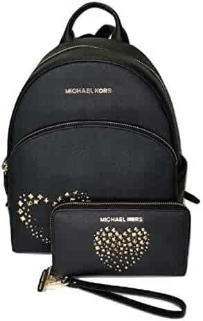 b28536fc4531 MICHAEL Michael Kors Abbey MD Backpack bundled with Michael Kors Jet Set  Travel Flat Phone Wristlet