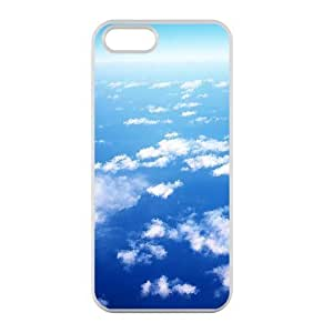 Welcome!Iphone 5/5S Cases-Brand New Design Beautiful Cloud Printed High Quality TPU For Iphone 5/5S 4 Inch -03