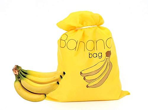(Banana Bag Storage Reusable Yellow Keep Fresh)