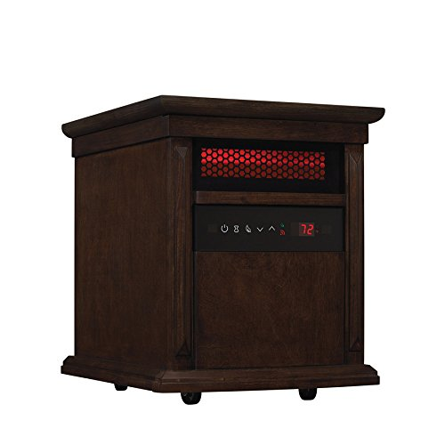 Duraflame 5,200-BTU Infrared Quartz Cabinet Electric Space Heater with Thermostat Infrared Heaters