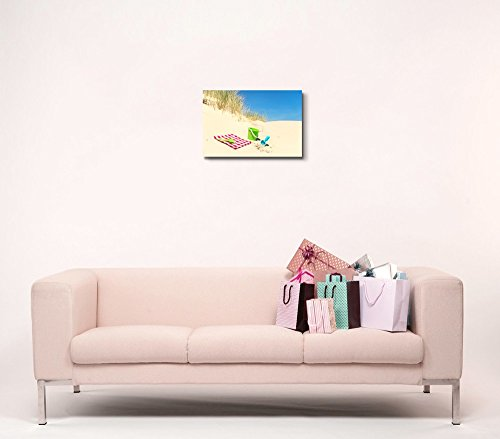 Picnic and Toys in The Dunes at The Coast Wall Decor