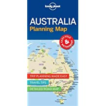 Lonely Planet Australia Planning Map 1st Ed.