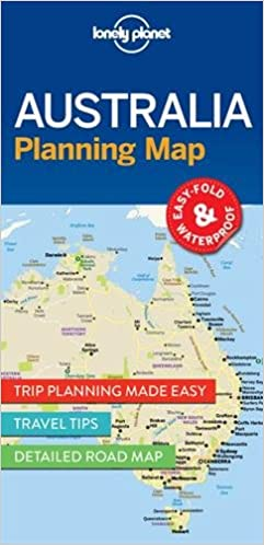 Lonely Planet Australia Planning Map Lonely Planet Planning Map - Japan map lonely planet
