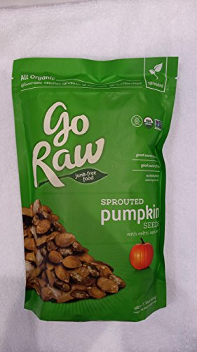 GoRaw - Sprouted Pumpkin Seeds - 1 Pound Bags