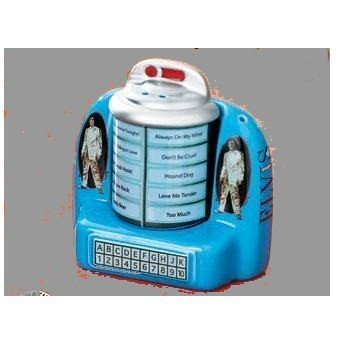 Elvis Jukebox Ceramic Salt & Pepper Shakers by Avon ()