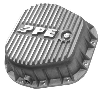 PPE HEAVY DUTY REAR ALUMINUM DIFFERENTIAL COVER RAW FORD F250/F350 10.25 & 10.50 INCH - 338051000