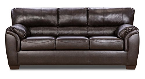 Simmons Upholstery 1788-03 Westminster Walnut Westminster Walnut Sofa, Large, Brown