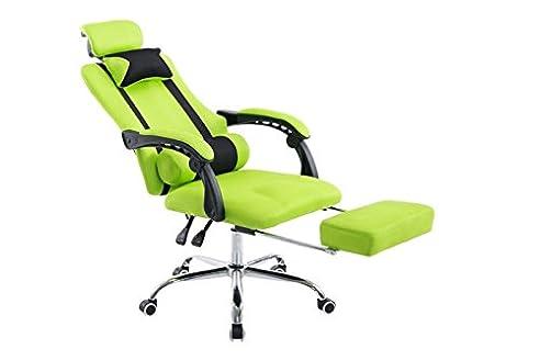Bürosessel mit liegefunktion  Amazon.de: Bürostuhl Spencer mit Liegefunktion; Chefsessel in Grün