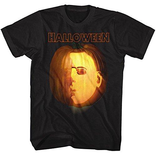 Halloween Tall T-Shirt Jack-o-Lantern Black Tee, 2XLT]()