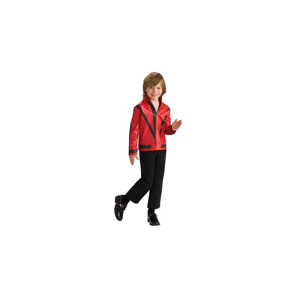 Thriller Red Jacket Small 4 6 Michael Jackson Collection