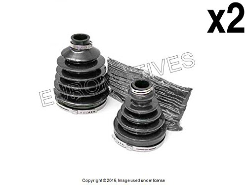 Cv Boot Covers - Volvo (99-09 Auto Trans) CV Boot Kit inner + outer boots L+R (x2 kits = 4 boots)