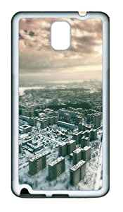 Cityscape 05 TPU Silicone Case Cover for Samsung Galaxy Note 3 N9000¨C White