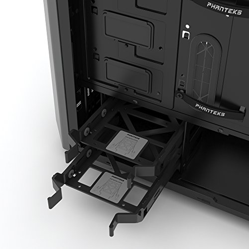 Phanteks PH-EC416PSTG_AG Eclipse P400S Silent Edition with Tempered Glass, Anthracite Grey Cases by Phanteks (Image #14)
