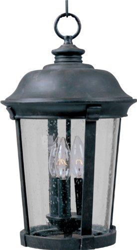 Maxim Dover DC Outdoor Hanging Lantern - 17H in. Bronze