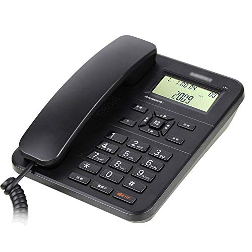 Speakerphone Line 2 Hotel (Telephones, landline Office/Home Caller ID Hands-Free Calling Dual Interface Query Call History (White/Black))