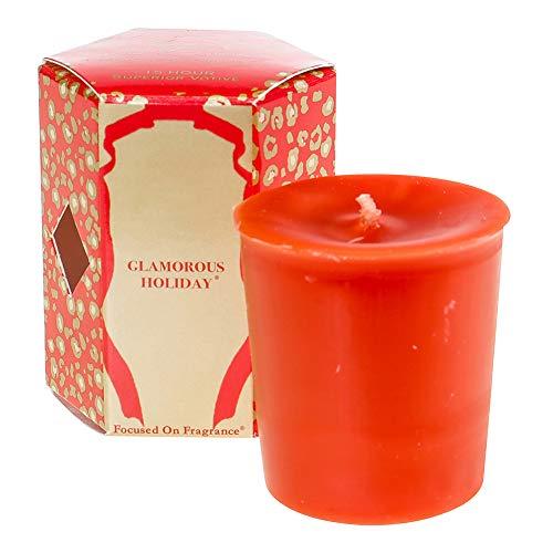 Tyler Votive Fragrance Candle 2 Oz, Glam Holiday