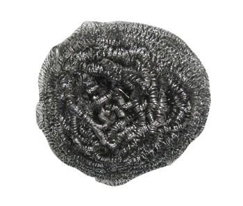 Thrifty Pete Stainless Metal Sponges Scourer, Commercial Size, 1 Each 75s