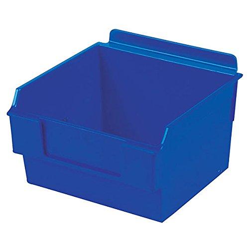 Retail Blue Shelfbox Style 100 measures 5.70''d x 5.51''w x 3.74''h by Shelfbox