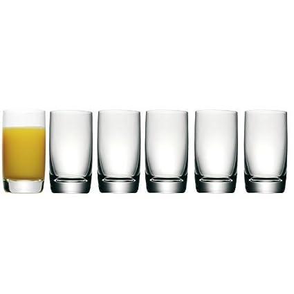 WMF Easy Juego 6 Vasos para Zumo, Vidrio
