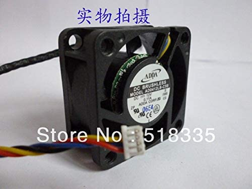 FOR ADDA AD0412LB-C5B 404020mm 4cm 40mm 4020 12V 0.11A 4Wire fan Axial Fan Cooling fan