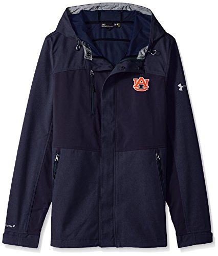 (Under Armour NCAA Men's Softshell Jacket, Navy, XX-Large)