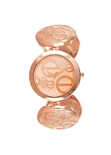 Reloj Elite Mujer Digital Oro Rosa Piel | Reloj Dore | e52734 - 812: Amazon.es: Relojes