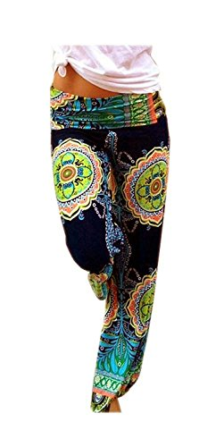 ARJOSA Womens Geometric Floral Stretchy