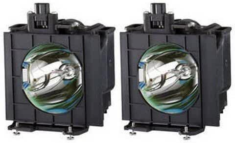 ET-LAD310AW Panasonic Twin-Pack Projector Lamp Replacement. Projector Lamp Assembly with High Quality Genuine Original Ushio Bulb inside. Twin-Pack contains 2 Lamps.