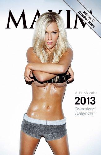 Maxim 2013 Oversized Wall Calendar