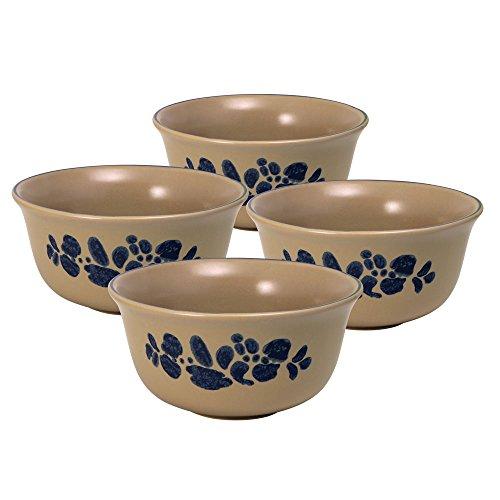 Pfaltzgraff Folk Art Deep Soup/Cereal Bowl (24-Ounce, Set of 4)