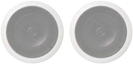 AmazonBasics Round Ceiling Wall Speakers product image