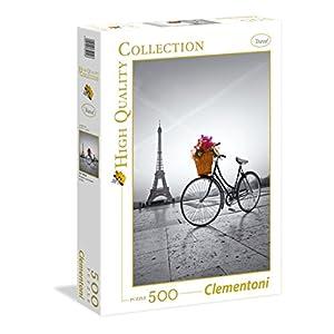 Clementoni 35014 Hqc Romantic Promenade In Paris Puzzle 500 Pezzi