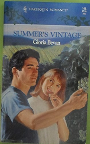 book cover of Summer\'s Vintage