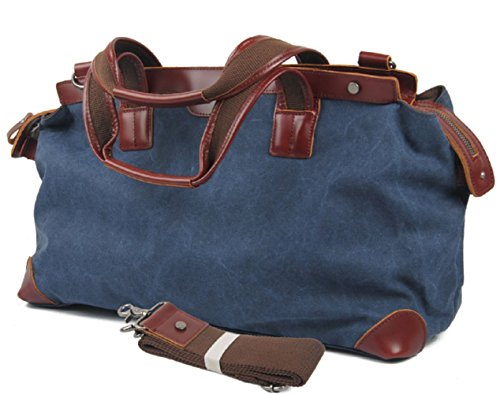 nasis-large-canvas-leather-travel-tote-luggage-hobo-weekender-duffel-satchel-handbag-al4016-blue
