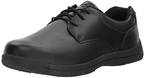 Propet Mens Marv Shoe Nero 8 X (3e) E Oxy Pulitore Bundle