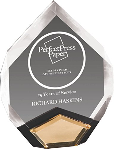 (Woltman - Marquis Award (available in Black and Mirrored Gold Acrylic Accents))
