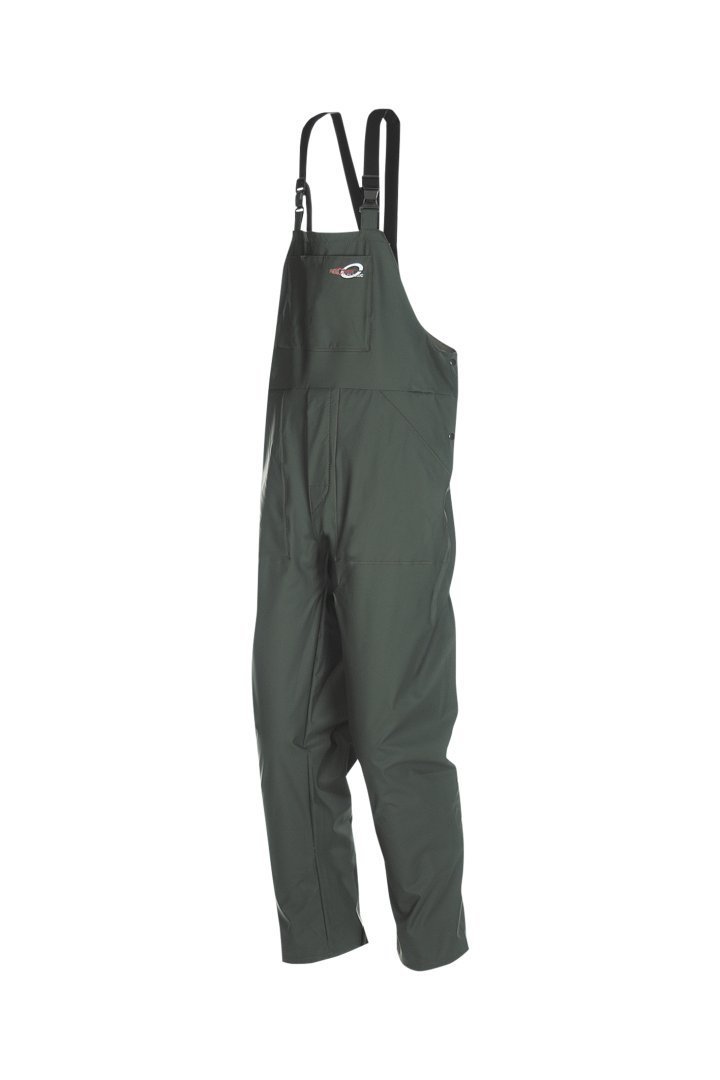 Small SIOEN 6660A2FC1A41S Milagro Bib and Brace Trousers Green Khaki