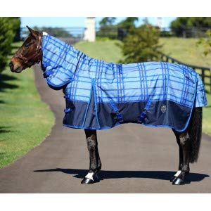 1200D Plaid Rug Combo Navy bluee