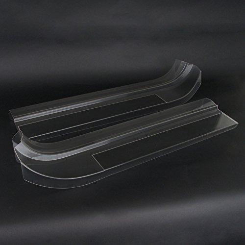 West Coast Corvette Corvette Clear Door Sill Protectors : C7 Stingray, Z51, Z06 (Clear)