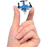 Successory FY804 Nano Drone Mini 2.4G 4CH RC Quadcopter Mini RC Aircraft Blue.