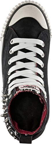 Shoes Jeans Pepe Nero Donna Sneaker S6Sqx