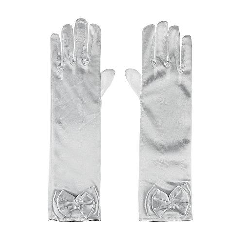 Flower Full fingered Gloves Wedding Formal