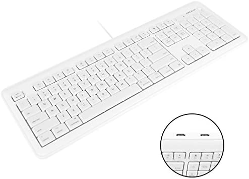 Macally Computer Keyboard Built 2 Port product image