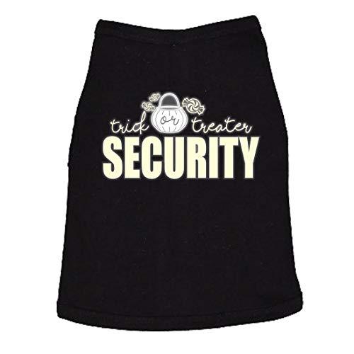 Dog Shirt Trick Or Treater Security Halloween Tee -