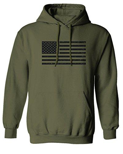Us Flag Mens Hoodie - 5